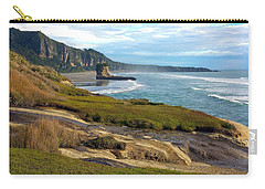 Carry-all Pouch featuring the photograph Punakaiki Truman Track by Stuart Litoff