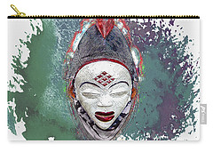 Punu Mask - Maiden Spirit Mukudji Carry-all Pouch