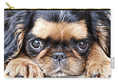 Puppy Love Carry-all Pouch by Jeannette Hunt
