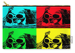 Puppy Mania Pop Art Carry-all Pouch