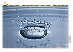 Pure Water Splash Carry-all Pouch by Anthony Sacco