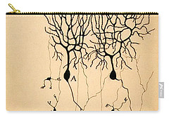 Purkinje Cells By Cajal 1899 Carry-all Pouch by Science Source