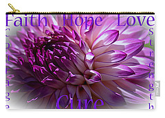 Purple Awareness Support Carry-all Pouch
