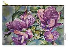 Purple Beauties - Bougainvillea Carry-all Pouch