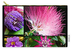 Purple Bouquet Carry-all Pouch by Melinda Ledsome