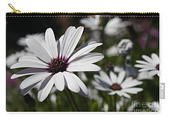 Purple Daisies 2 Carry-all Pouch
