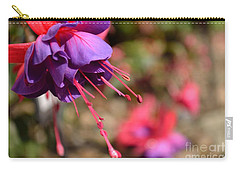 Purple Fuchsia Carry-all Pouch