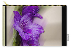 Purple Gladiolus Carry-all Pouch