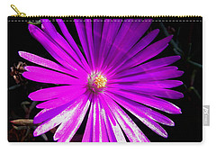 Purple Glow Carry-all Pouch by Pamela Walton
