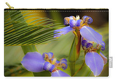 Purple Iris No. 1 Carry-all Pouch