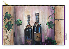 Hazy Purple Memories Carry-all Pouch