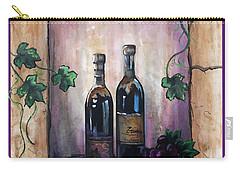 Hazy Purple Memories Carry-all Pouch by Dani Abbott