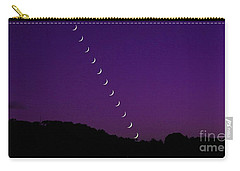 Purple Moon Setting In West Carry-all Pouch