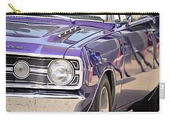 Purple Mopar Carry-all Pouch by Bonfire Photography