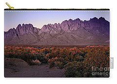 Purple Mountain Majesty Carry-all Pouch by Barbara Chichester
