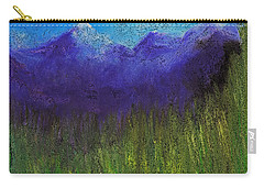 Purple Mountains By Jrr Carry-all Pouch by First Star Art