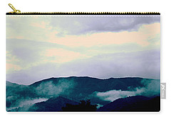 Purple Mountains Majesty Blue Ridge Mountains Carry-all Pouch