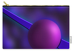 Purple Orb Carry-all Pouch by Paul Wear