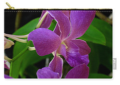 Purple Over Green Carry-all Pouch