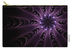 Purple Passion Carry-all Pouch by GJ Blackman