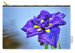 Purple Pond Iris Carry-all Pouch