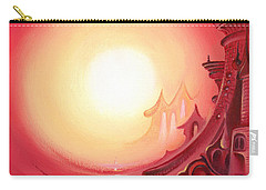 Purple Prayer Carry-all Pouch