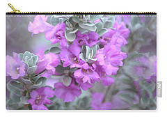 Purple Sage Carry-all Pouch by Deb Halloran