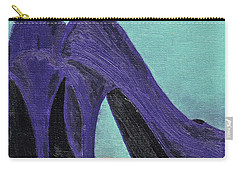 Purple Shoes Carry-all Pouch