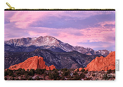 Purple Skies Over Pikes Peak Carry-all Pouch