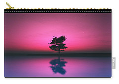 Purple Sky... Carry-all Pouch by Tim Fillingim