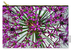 Carry-all Pouch featuring the photograph Purple Starlight by Aimee L Maher Photography and Art Visit ALMGallerydotcom