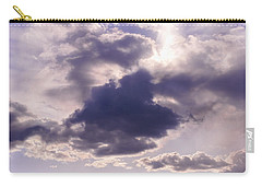 Purple Sunset On The Hudson River Carry-all Pouch