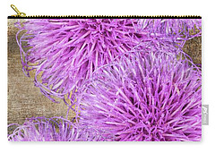 Purple Thistle - 2 Carry-all Pouch