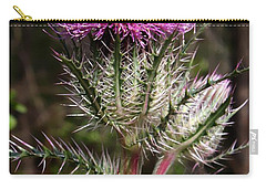 Purple Thistle  Carry-all Pouch