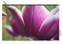 Purple Tulip Petal Carry-all Pouch