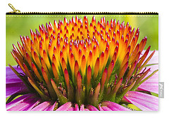 Purple Cone Flower - Echinecea Carry-all Pouch