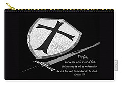 Put On The Armor Ephesians 6 Carry-all Pouch