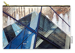 Pyramid Skylights Carry-all Pouch by Stuart Litoff