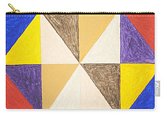 Pyramids 2 Carry-all Pouch by Stormm Bradshaw