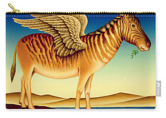 Quagga Carry-all Pouch by Frances Broomfield