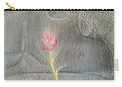 Carry-all Pouch featuring the painting Quake by Mike Breau