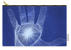 Quantum Hand Through My Eyes Carry-all Pouch by Jason Padgett
