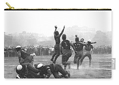 Quarterback Throwing Football Carry-all Pouch by Underwood Archives