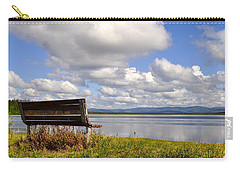 Carry-all Pouch featuring the photograph Quartz Lake by Cathy Mahnke