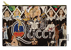 Queen - Black Queen White Queen Carry-all Pouch