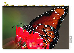 Queen Butterfly II Carry-all Pouch