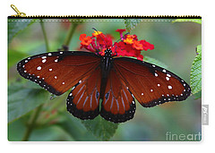 Queen Butterfly Carry-all Pouch by Marty Fancy