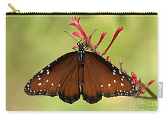Queen Butterfly Carry-all Pouch by Meg Rousher