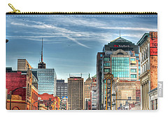 Queen City Downtown Carry-all Pouch by Michael Frank Jr