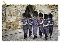 Queens Guard Carry-all Pouch by Heather Applegate
